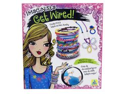 Twist, coil, and design trendy telephone wire jewelry. Use the Wire Styler to spin wire into bracelets, necklaces, and more.