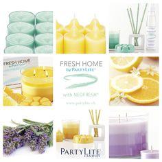 FRESH HOME by PartyLite mit NEOFRESH https://monikagantzer.partylite.at/Shop/Search?q=fresh home
