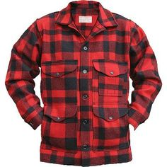Filson Mackinaw Cruiser…In red of course