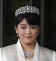 Princess Mako of Japan on her 20th birthday in 2011