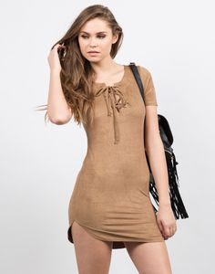 Suede Tied Up Dress #2020AVEXHOLIDAY even if its cold ill fight throughhaha