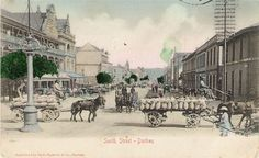 Durban Smith Street King Solomon's Mines, Durban South Africa, Historical Society, Vintage Pictures, Zulu, History, Street, Genealogy, Image