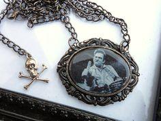 Johnny Cash Necklace. $15.00