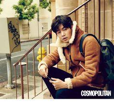 Lee Sang Yoon for Cosmopolitan Korea January Photographed by Mok Jung Wook Lee Sang Yoon, Lee Sung, Hallyu Star, I Hate You, Angel Eyes, Korea Fashion, Asian Boys, Korean Actors, Life Is Beautiful