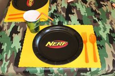 Nerf Birthday Party Ideas | Photo 6 of 13 | Catch My Party