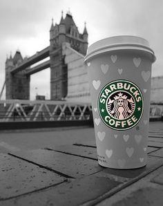 Fuck Yeah Starbucks! to of my favorite things starbucks and london