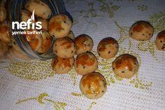 Margarinsiz Tek Atımlık Tuzlu Kurabiye How To Make Cake, Food To Make, Stuffed Mushrooms, Eggs, Cookies, Canning, Chicken, Vegetables, Breakfast