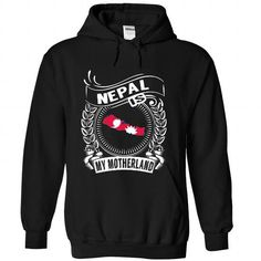 Nepal is My Motherland (New) - #gift ideas #love gift. CHECK PRICE => https://www.sunfrog.com/States/Nepal-is-My-Motherland-New-qrhhbhtxve-Black-Hoodie.html?68278