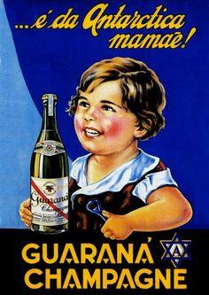 13629 - BEBIDAS - ANTARCTICA 1933 - Guaraná Champagne - … é da A