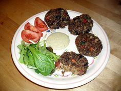 Fantastische vegane Rohkost Frikadellen! (Raw Vegan Meatballs)