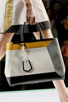 Must have this season with Fendi. Love these colors!