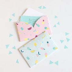 Du papier à lettre personnalisé - DIY paper card - Marie Claire Idées