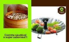 Bom dia :)  Das maneiras mais saudáveis de se cozinhar. Tenham um domingo feliz!!!