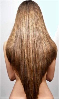 Long Hair V Cut, V Cut Hair, Long Layered Hair, Short Hair Cuts, Haircuts For Long Hair, Cool Hairstyles, Haircut Long, V Shape Hair, V Shaped Haircut