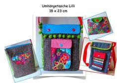 Nähanleitungen Taschen - Anleitung Geldbörse Billi & Tasche Lilli - ein Designerstück von Beate bei DaWanda