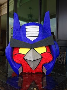 Piñata angry bird transformer