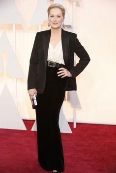 De mayores TODAS queremos ser Meryl. #Oscars2015