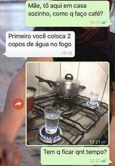 Fazendo café