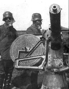 ww1 german anti aircraft heavy machine gun