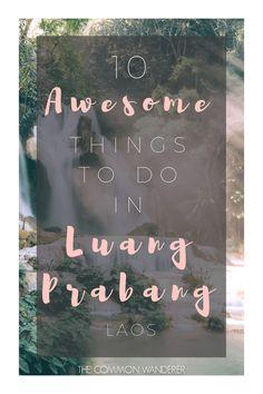 Luang Prabang things to do