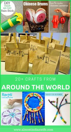 Are you looking for fun crafts that teach your kids about the world around them? Here is a list of 25+ crafts from around the world perfect for a fun day with the kids! My boys are masters of creating mess and mischief. In fact, most days I look around my house and wonder how …