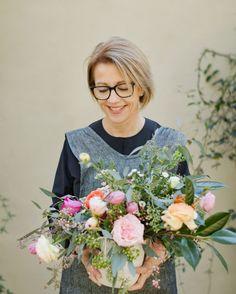 Harriet Charles, South Gate Design, Garden Florals | Fine Art Portrait Photography by Amelia Protiva