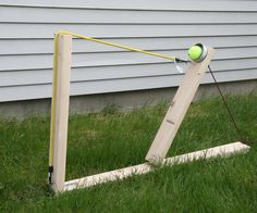 This catapult is doable in about half an hour to forty-five minutes. It doesn't launch very far due to the elasticity of this bungee cord, but a motorcycle strap would much work better.   Submitted by Powell Middle School for the Instructables Sponsorship Program.