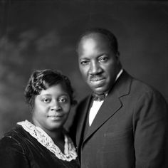 """The Haywood's. Bishop G.T.Haywood was the 1st presider of the PAofW...prolific songwriter. """"I See a Crimson Stream of Blood"""" among many others."""