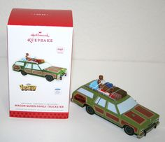 Hallmark 2013 Vacation Christmas Ford Wagon Queen Lampoon Family Ornament Edna | eBay