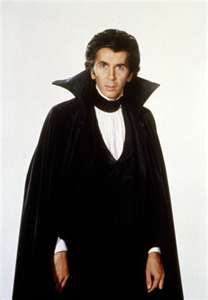 Frank Langella, one of the best looking actors to portray Dracula!