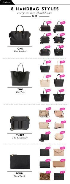 3f96148f9c7a Fashion File: 8 Handbag Styles Every Woman Should Own - Part I ファッションウェア,