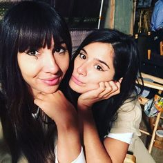Orange is the New Black - Jackie Cruz and Diane Guerrero