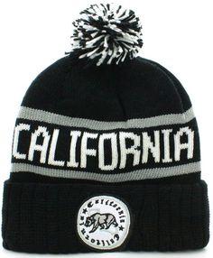 25bd45ee83c Absolute Clothing California Republic Cuff Beanie Cable Knit Pom Pom Hat  Cap Pom Pom Hat
