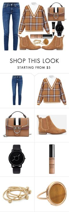 """""""street style"""" by sisaez ❤ liked on Polyvore featuring Acne Studios, Superdry, NYX, Jacqueline Rose and Ginette NY"""