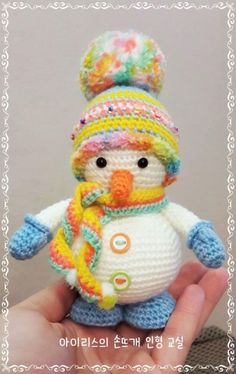 Häkeln Schneemann kostenlos amigurumi Muster Crochet snowman free amigurumi pattern Related Free Crochet Stitches from Daisy Farm Crafts - To Crochet On Flip Flops (And will they. Baby Knitting Patterns, Crochet Amigurumi Free Patterns, Crochet Dolls, Hat Crochet, Free Crochet, Crochet Christmas Decorations, Christmas Crochet Patterns, Holiday Crochet, Confection Au Crochet