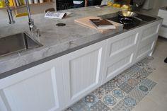 Encimera de granito de muebles de cocina
