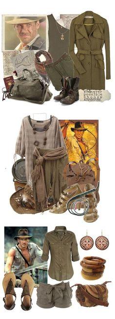 Indiana Jones costume inspiration