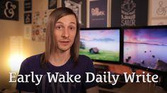 Early Wake Daily Write http://seanwes.tv/80