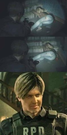 Check out the funniest memes, funny GIFs and hilarious videos that make you laugh out loud in public! Video Game Memes, Video Games Funny, Funny Games, Top Memes, Dankest Memes, Resident Evil, Meme Show, Leon S Kennedy, Gaming Memes