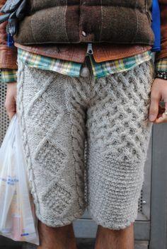SheeShee Loves You: Knit Inspiration - From WGSN - anthony fagan - Knitwear Fashion, Knit Fashion, Knit Pants, Knit Shirt, Yarn Inspiration, How To Purl Knit, Crochet Yarn, Pulls, Clothing Patterns