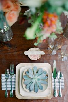 diy wedding table setting napkins brides of adelaide magazine