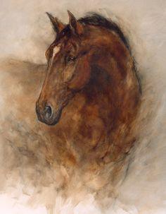 Gary Benfield Chestnut Elegance,Trident Galleries,DeMontfort Fine Art