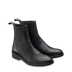 ANGULUS Sort 1604 Chelsea støvle med elastik | Gratis fragt over 745 kr.