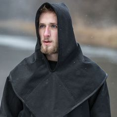 Canvas jacket with hood – a water resistant duo for a viking who wants to stay dry.