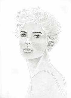 Stephen Lursen Art: Drawing for design work. http://www.donnadowney.com/donna-downey-cling-stamp-avery.html