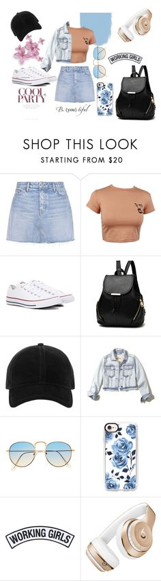 """Untitled #23"" by anken-fjellstad-mardalen on Polyvore featuring GRLFRND, Converse, rag & bone, Hollister Co., Casetify, Working Girls and Beats by Dr. Dre"