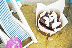 Kurumba Überraschungscupcake mit kokosnussiger Geheimfüllung (ein Schatz!) vom Sonntagsfräulein
