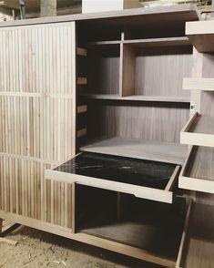 #woodworklabstudio #woodworklabdesign #woodworklab #madetomeasurefurniture #madeingreece #officestudio… Woodworking, Shelves, Bar, Cabinet, Interior Design, Home Decor, Shelving, Clothes Stand, Nest Design