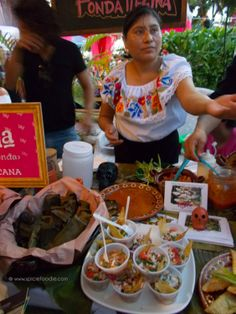Sunday Snapshots: A Mexican Food Festival and Other Yummy Foods | #playadelcarmen #mexicanfood #travel