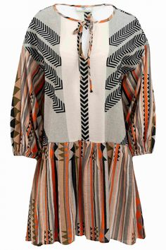 Devotion Damen Printkleid Orange/Bunt | SAILERstyle Kimono Top, Cover Up, Orange, Band, Dresses, Products, Fashion, Fashion Styles, Ladies Trends